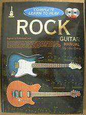 COMPLETE LEARN TO PLAY ROCK GUITAR MANUAL BEGINNER TO PROFESSIONAL LEVEL