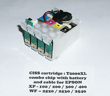 T200XL CISS Cartridges for EPSON XP-100 XP-200 XP-300 XP-400