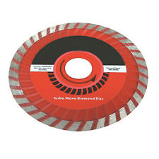 115mmx22.2 mm Turbo ola de corte de diamante blade-for Piedra, baldosas, losas, concreto