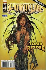 WITCHBLADE TOMB RAIDER Euro VARIANT Michael Turner Top Cow RARE IN THE US! NM