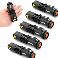 5pcs LED Flashlight 300LM mini Torch Ultrafire CREE Bulb Light Lamp outdoor camp