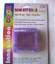 Clear Grape Light Boy Magic Magnifying magnifier screen Gameboy Color New game