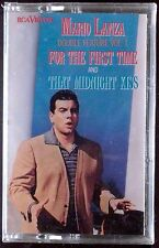 Mario Lanza-For the First Time & Midnight Kiss DOUBLE CASSETTE SEALED OOP