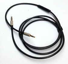 118cm 3.5mm-2.5mm male Cable Remote & Mic for iphone to Bose oe2 oe2i Headphone