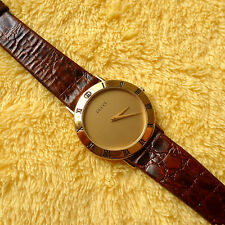 Gucci 3000.2M 18KGP Men's/Women's Watch in Excellent condition