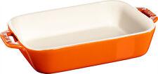 Polvere CERAMICA sformato forma stampo, rettangolare arancione 14x11 cm CERAMIC