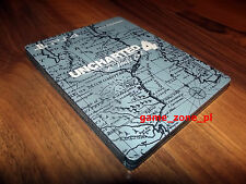 Uncharted 4: A Thief's End Steelbook - KIT - NEW - PROMO - ULTRA RARE !