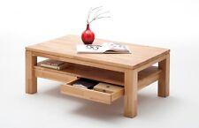 GIL Couchtisch Wohnzimmertisch Tisch Massivholz Holz Kernbuche geölt 115x70 cm