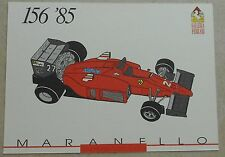 FERRARI Galleria 1993 156 f1 1985 Scheda Card brochure prospetto book libro Press