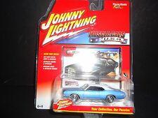 Johnny Lightning Mercury Montego 1971 Blue 1/64 JLMC002B