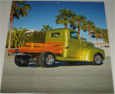 1947 Ford  Pickup truck print  (green, modified)