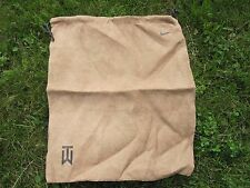 2 NIKE CLOTH SHOE BAGs TIGER WOODS  NEW ACCESSORIES FOR YOUR SHOES