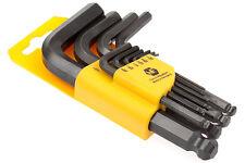 Inbus® Schlüssel Set 10-tlg kurz 1/16-1/2 Zoll Werkzeug Satz Schraubendreher neu