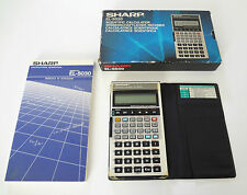 Calcolatrice Scientifica SHARP EL-5030 Scientific Calculator Vintage