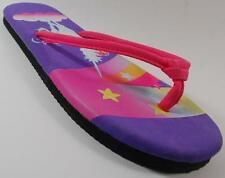 NEW Girls Youth UNBRANDED UNICORN Thongs Flip Flops Sandals  Shoes SZ LARGE 2/3