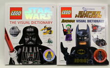 LEGO Star Wars Visual Dictionary & Batman Visual Dictionary (Two Books)