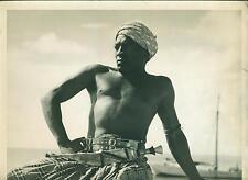 PHOTOGRAPHIE ORIGINALE ACTEUR Habib BENGLIA dans LES SECRETS DE LA MER ROUGE