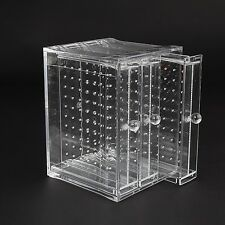 Discoball Clear Acrylic Earrings Holder 3 Panels Earring Display Jewellery Or...