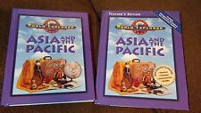 Prentice Hall World Explorer ASIA AND THE PACIFIC  SET OF 2 homeschool text