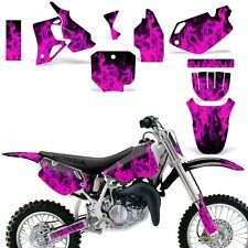 Graphic Kit Honda CR 80 MX Dirt Pit Bike Decals Sticker Wrap CR80 96-02 ICE PINK