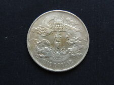 RR! Empire China 1 Dollar Yuan Jahr 3=1911  very fine/ss silver