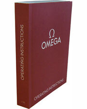 Omega Operating Watch Instructions Booklet Manual User Guide 1/13