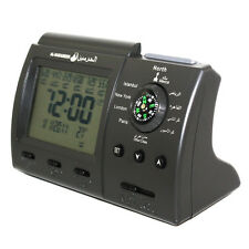 New Digital Automatic Islamic Azan Muslim Prayer Alarm Table Clock Adhan Qibla