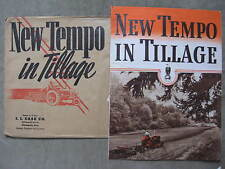 1942 Case New Tempo In Tillage Centennial Tractor Plow Brochure Envelope
