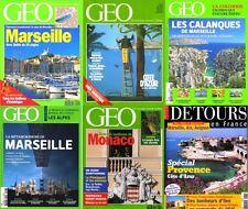 MARSEILLE - géo - BOUCHES DU RHONE / prixportcompris