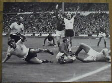 Photo Angleterre Allemagne,Wembley,coupe du monde football,1966 , 25 x 35 cm