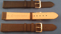 EXTRA LONG BLACK,BROWN GENUINE LEATHER Watch Strap Band 6-22mm BETTER