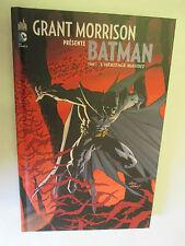 """Grant Morrison présente Batman T 1 """"L'Héritage Maudit"""" / Urban DC Comics2012"""