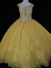 Princess Flowr Girls Ball Gown/Pageant Dress Birthday Party Formal Wedding Glitz