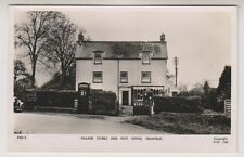 Hampshire postcard - Village Stores and Post Office, Froxfield - RP - P/U 1956
