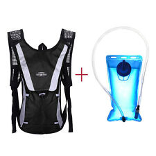1pc Water Bladder Bag Backpack+Hydration Packs Hiking Camping 2L