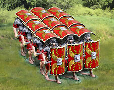 THE COLLECTORS SHOWCASE ROME 43AD 8 PIECE ROMAN TESTUDO SET MB