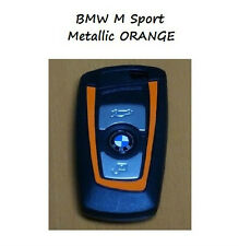 Metallic Orange BMW Key Vinyl Decal Sticker F30 F35 F20 F10 F18 F07 1 3 5 Series