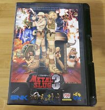 Metal Slug 3 for Neo Geo AES (JPN Japanese) Near Mint Condition 2nd Run