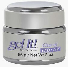 EzFlow LED/UV Gel It Clear It - 56 g / 2 oz - 42209