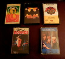 (5) Original soundtrack cassettes: HAIR/SGT. PEPPER/BATMAN, ETC