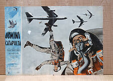 UOMINI CATAPULTA fotobusta poster John Payne Pilot Aereo Bail out at 43.000 5