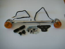 Rear Indicator relocation kit Harley-Davidson XL, & Dyna with Bullet Heads