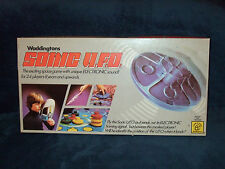 SONIC U.F.O - ELECTRONIC ORIGINAL VINTAGE SPACE GAME 1979 - WADDINGTONS
