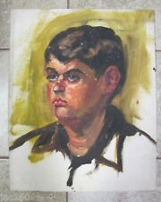 Old Vintage Oil Painting- GOSTON? PORTRAIT OF A BOY