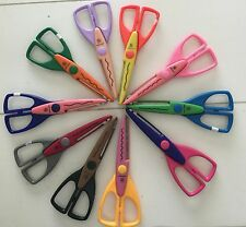 Lot of 10 Paper Edger Shapers Scissors PC Provo Craft Scrapbooking Set