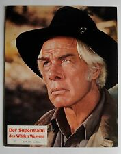 Q306 - 2x Aushangfotos - Lee Marvin DER SUPERMANN DES WILDEN WESTENS