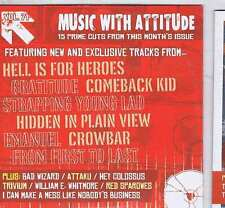 HELL IS FOR HEROES / GRATITUDE / COMEBACK KID +  ROCK SOUND CD Vol. 71