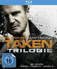 96 HOURS-TAKEN 1-3 BD 3 BLU-RAY NEU