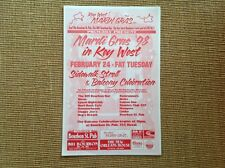 Mardi Gras '98 in Key West.   Poster.    3 available