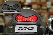 2003-2006 Kawasaki Z1000 03-04 Ninja ZX6R SEQUENTIAL Signal LED Tail Light SMOKE